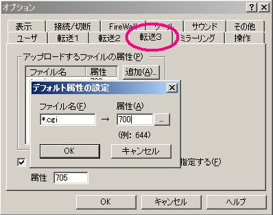 FFFTPオプション